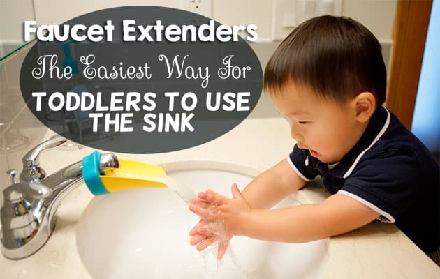Faucet extenders the easiest way for your toddler to use the sink