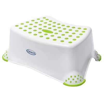 Graco Sure Foot Step Stool in green