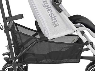inglesina net storage basket under seat