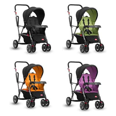 Joovy Kaboose Sit and Stand Stroller Color Choices (Black, Green, Orange and purple)