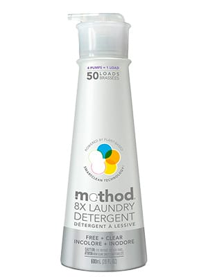 medthod 8x laundry detergent - no fragrance