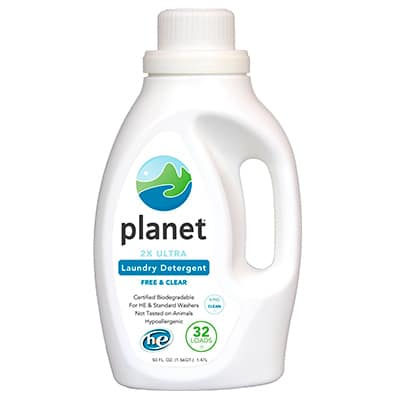 planet 2x ultra concentrate natural laundry detergent