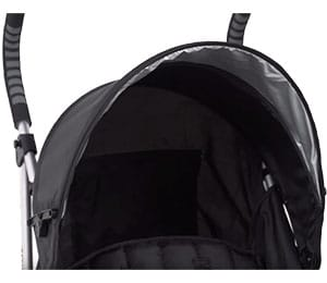 Summer infant 3d lite umbrella stroller canopy with sunshade tucked away