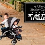 Sit and Stand Strollers: Infants & kids riding together!
