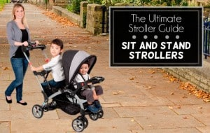 The ultimate stroller guide: Sit and stand strollers