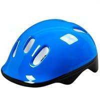 blue baby bike helmet