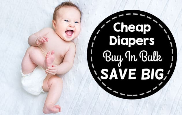 cheap diapers - buy in bulk and save big header