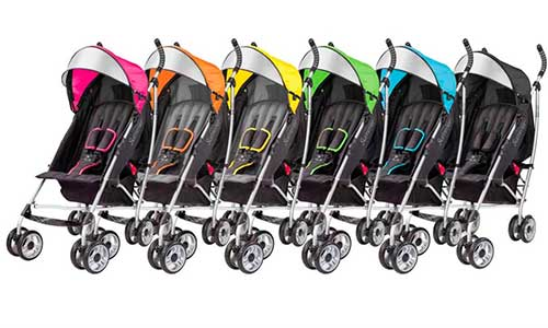 different color options for summer infant 3d lite umbrella stroller