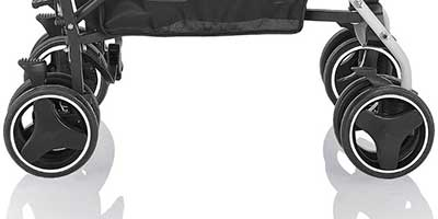 inglesina net umbrella stroller front and rear wheels