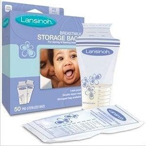 lansinoh box of 50 breast milk storage bags