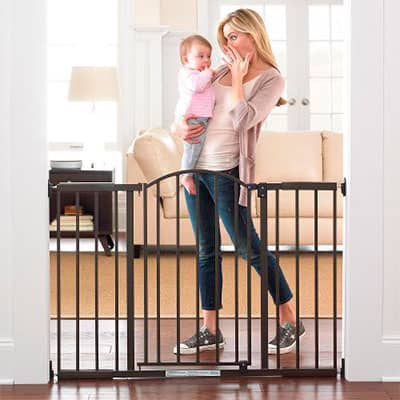 summer infant decorative presure mounted baby gate