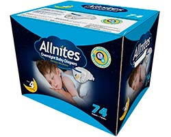Allnites Overnight Baby Diapers