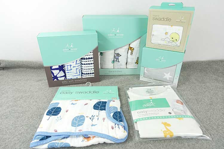 Brand new aden and anais swaddles in box