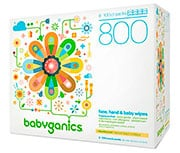 Babyganics Fragrance-Free Baby Wipes