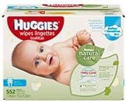 Huggies Natural Care Baby Wipes
