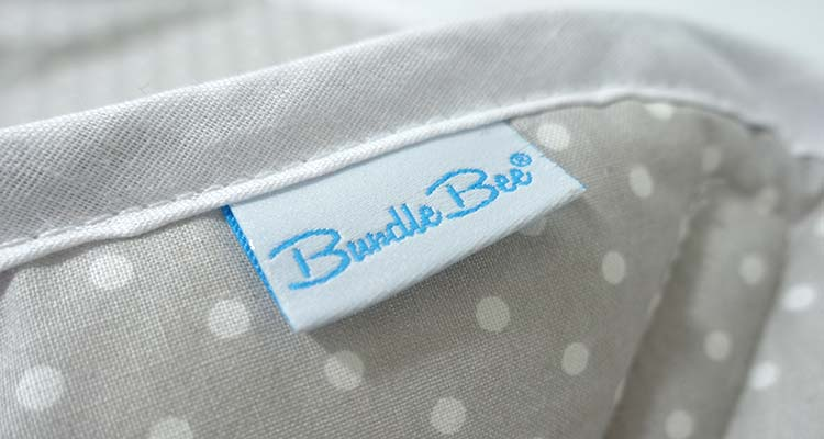 Bundlebee Baby Wrap Swaddle Tag