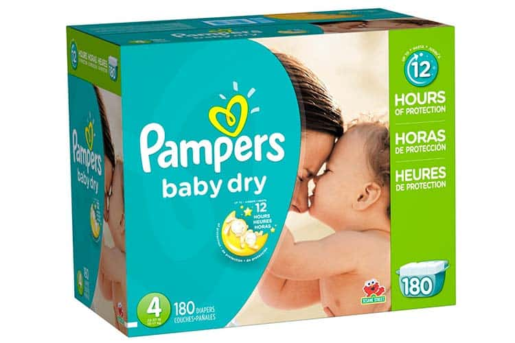 Pampers Baby Dry Overnight Diapers
