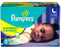 Pampers Swaddlers Overnights