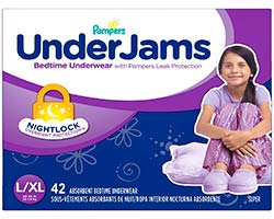 Pampers Underjams For Girls