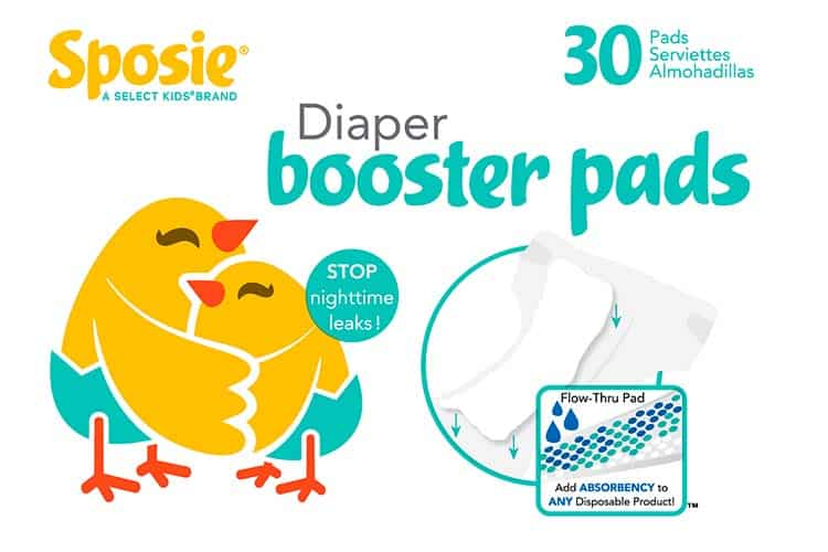 Sposie Diaper Booster Pads