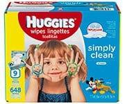 Huggies Simply Clean Fresh Baby Wipes