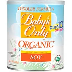 Baby's Only Organic Soy Formula