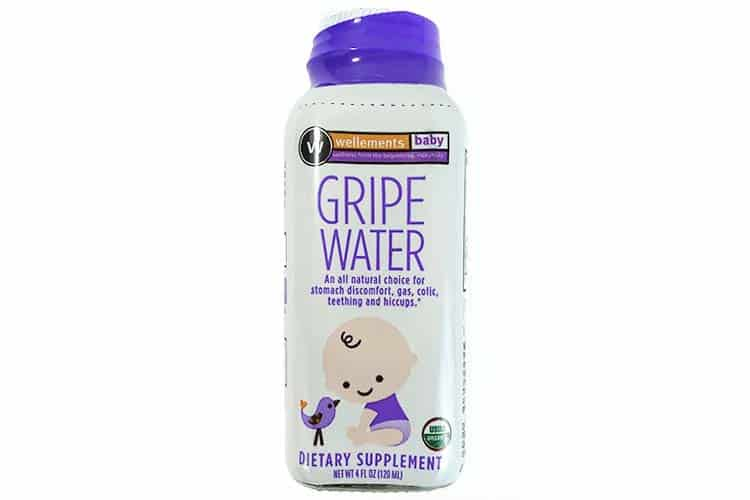 unopened bottle of wellements  natural and organic gripe water