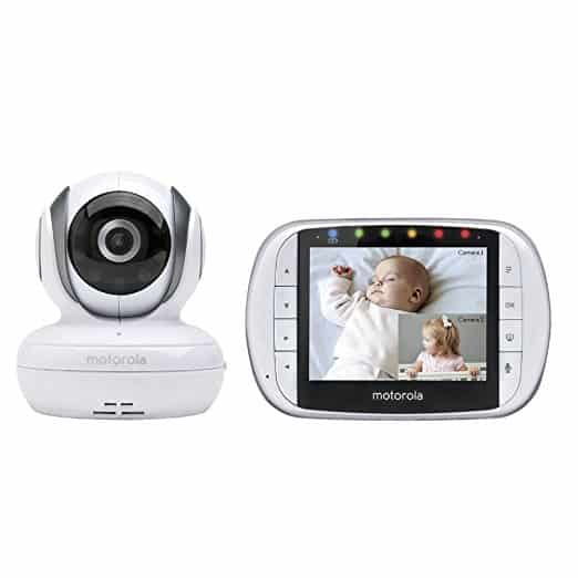 Motorola MBP36 Remote Wireless Video Baby Monitor with Color LCD Screen