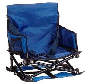 Blue Travel Booster High Chair   Regalo My Chair