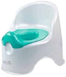 two piece potty chair with removable insert