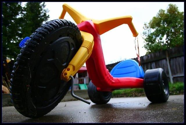 kiddie bike