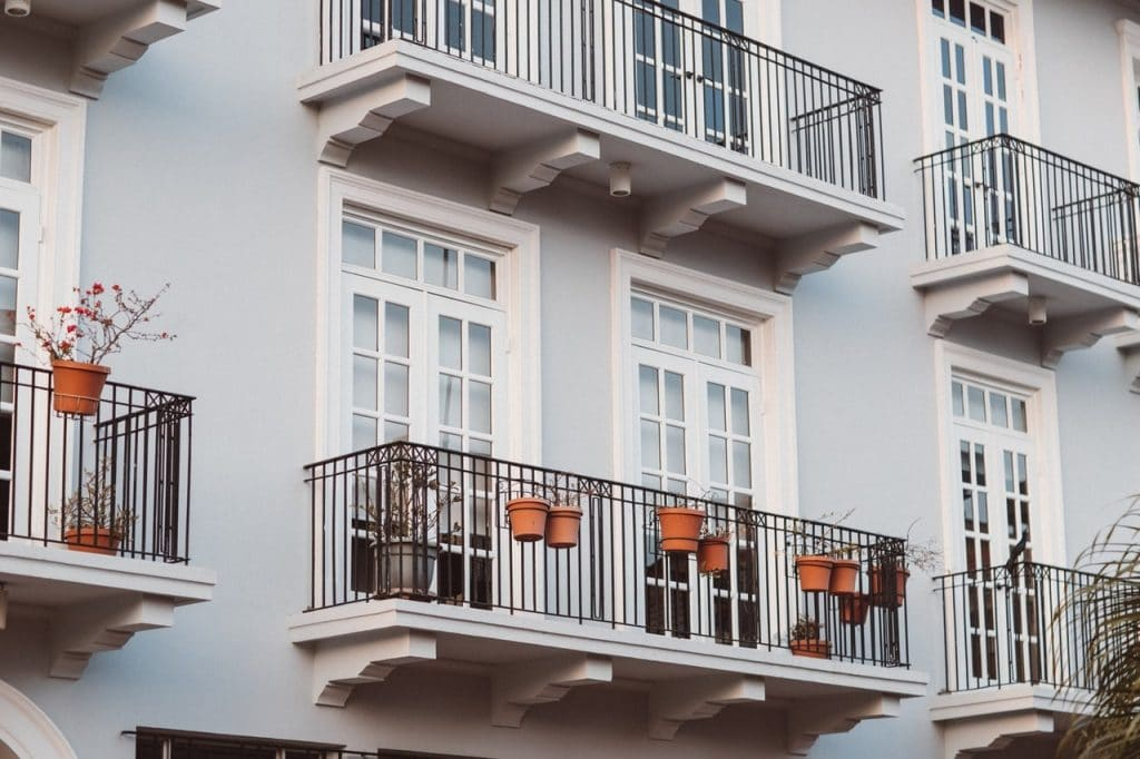 Apartment balcony