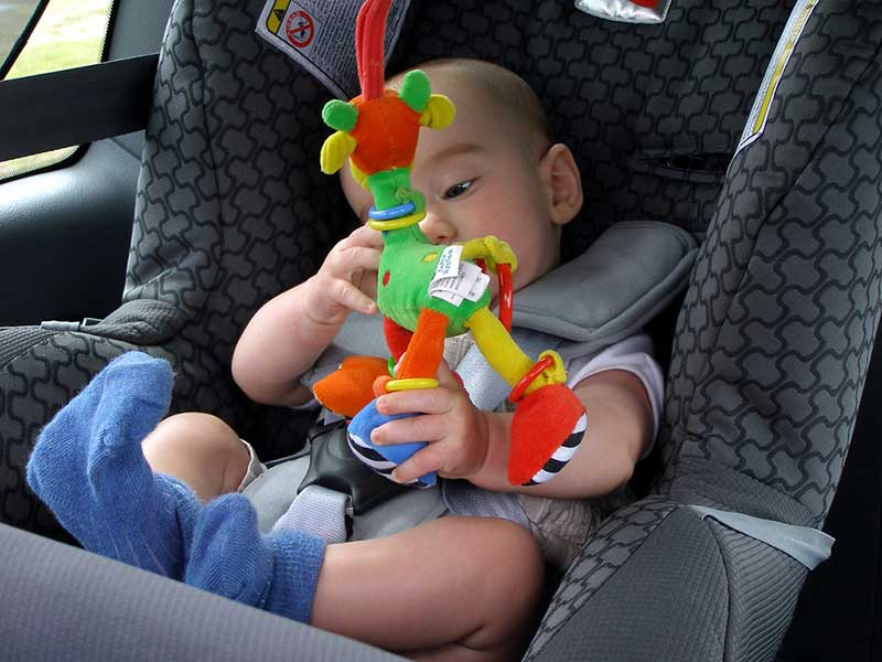 baby playing toy