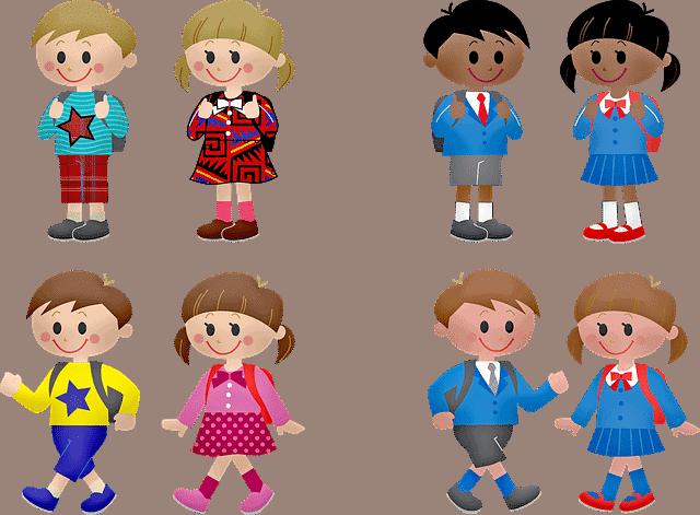 children-students-boy-and-gir