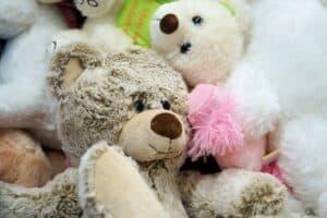 Adorable stuffed toy bears