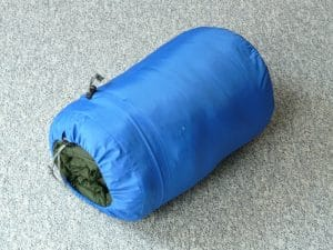 the best rolled and packed ultralight and lightweight sleeping bag