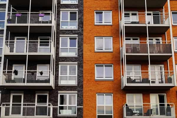 apartment architecture balcony building