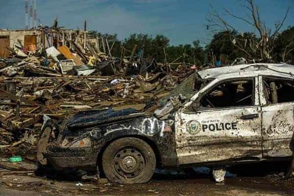 Tornado devastated