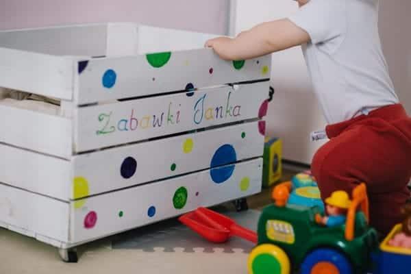 Toddler Playing TOys