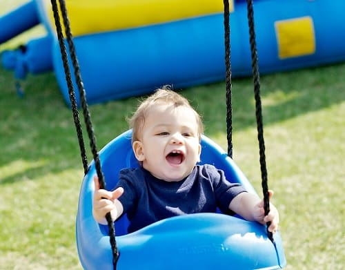 baby enjoy swing