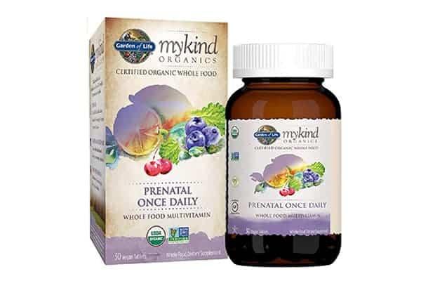 Garden of Life Organic Prenatal Multivitamin Supplement with Folate