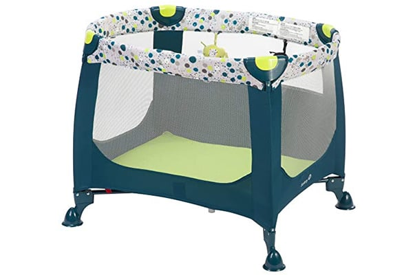 fety 1st Happy Space Play Yard, Confetti Blue