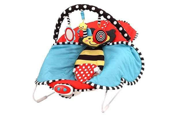 Sassy Cuddle Bug Bouncer (Red)