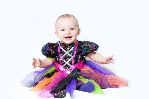 baby wearing Halloween costumes