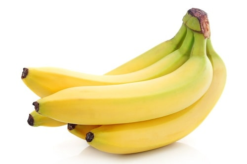 five pieces in one bunch of banana