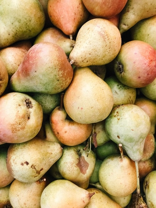bunch of pear