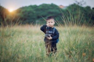 boy camera child