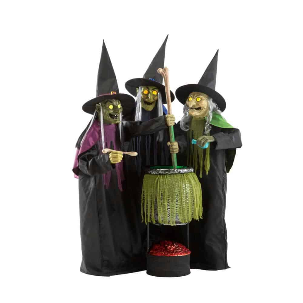 Three witches for Halloween Classroom Decorations