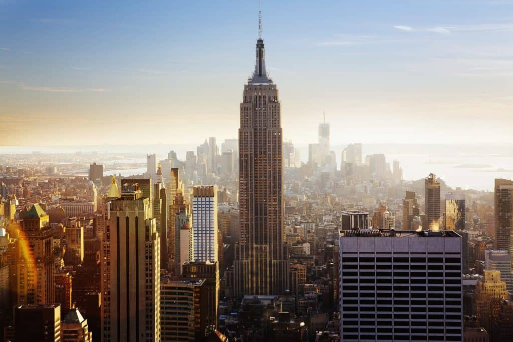 The Empire State Building, which you can see in many of the family travel packages available in New York